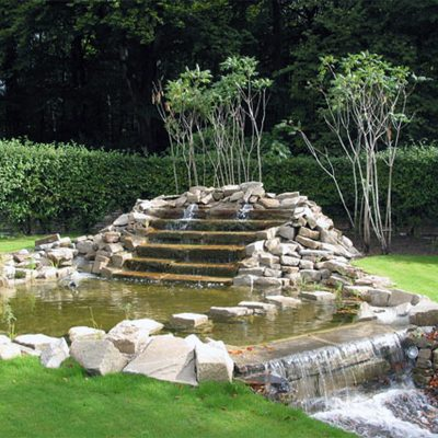 Brunnen - Bachlauf