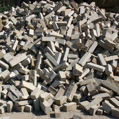 Mauersteine IV - gesägte Lagerfugen
